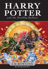 Harry Potter and the Deathly Hallows Cover Page. Bloomsbury Publication.